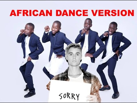 Triplets Ghetto Kids dancing to 'SORRY' by Justin Bieber (African Version)