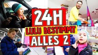 24h CHALLENGE - Königin LULU bestimmt ALLES 👑 Teil 2 mit Lulu & Leon - Family and Fun