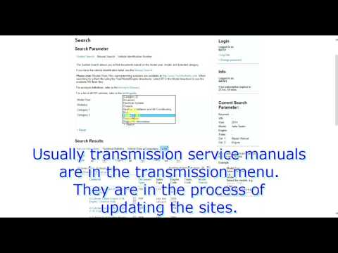 erWin Service Manuals: Quick How-To