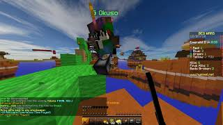 This is The Right Way To use Invisibility Potion  [Hypixel Minecraft Bewdwars]