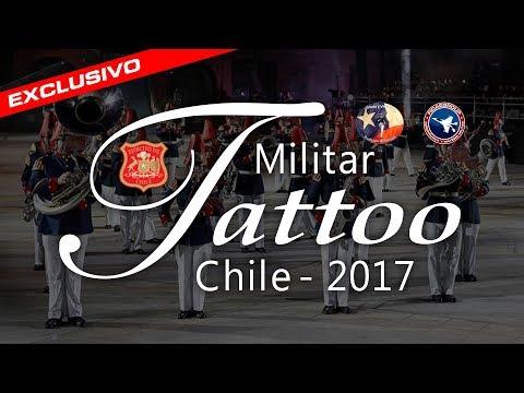 Tattoo Militar Chile 2017 / Chilean Military Tattoo (Festival de Música Militar)