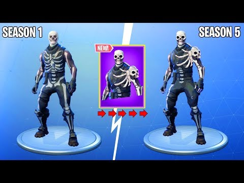 The SKULL TROOPER V2 In Fortnite...