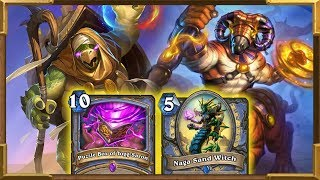 Hearthstone: What's In The Box? Big Spells Mage | Broken Deck | Puzzle Box | Saviors Of Uldum