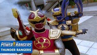 Thunder Rangers Battles | Ninja Storm Episodes | Power Rangers Official