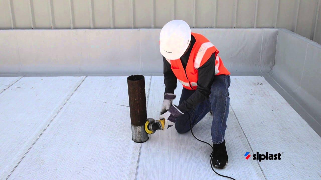 Siplast Roof Amp Bituminous Waterproofing Membrane For
