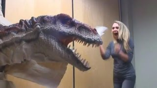 Funny Japanese Prank T-Rex Dinosaur in Hall Way | 2015 HD | Best Of Japan Pranks Fun New Laughs