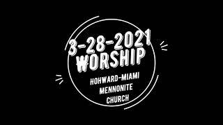 3-28-2021 Worship - To the Cross: Waiting & Preparing