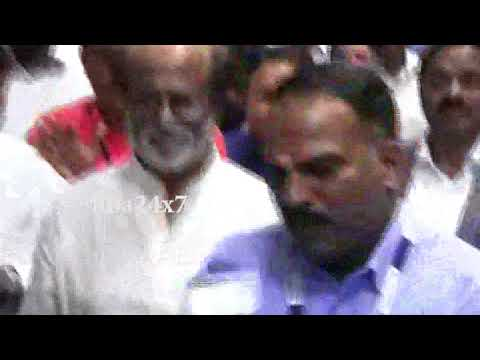 Superstar Rajinikanth returns from Malaysia | nba 24x7