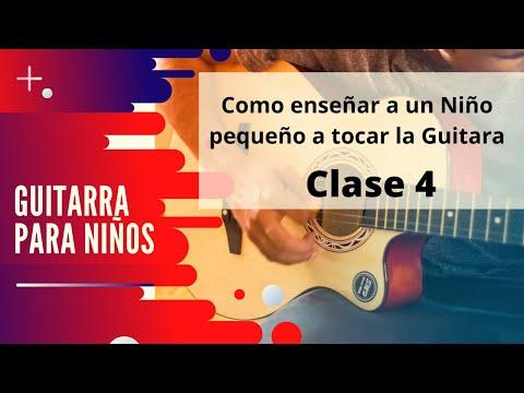 Guitarra para niños - Cuarta lección