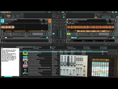 Techno Tech House Minimal Mix 2016/8 with Ableton Push (Deutsche Kommentare)