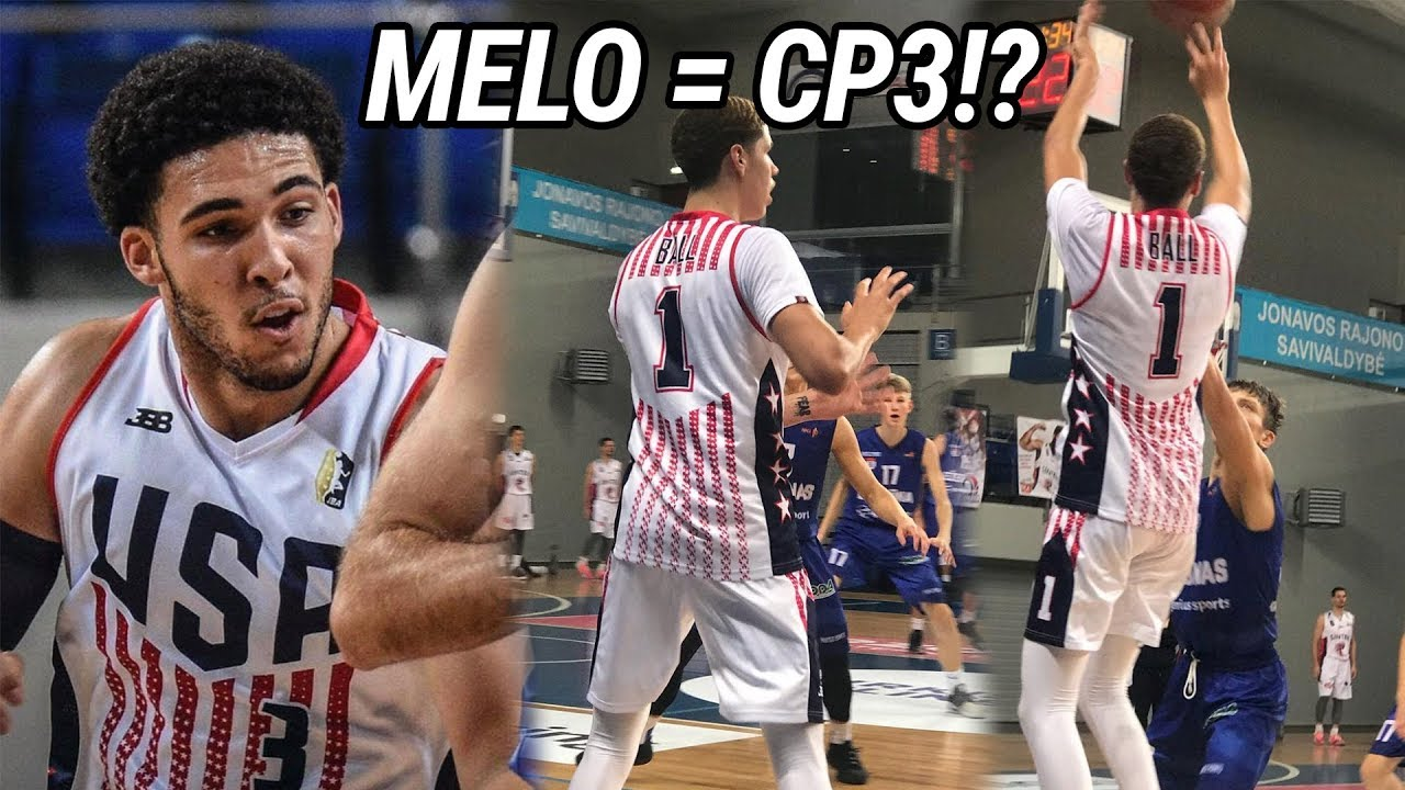 lamelo-ball-puts-on-a-show-for-team-usa-throws-insane-dimes-drops-30-points-gelo-scores-32