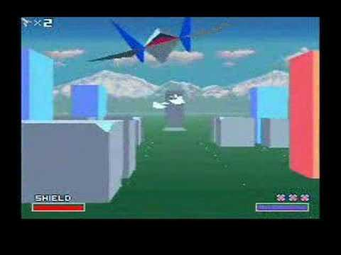 Star Fox Level 1 Stage 1 - Corneria