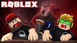 DON'T GET CAUGHT BY SNEAKY WEREWOLF in ROBLOX WOLF OR OTHER