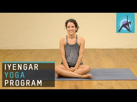 Introduction to the Iyengar for Beginners program on Ekhart Yoga