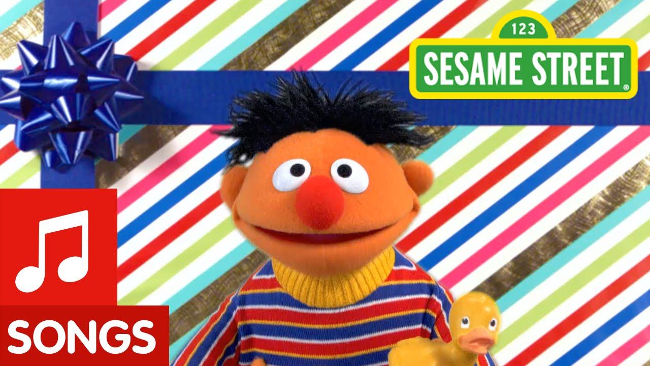 Sesame Street Ernie Happy Birthday Song Youtube