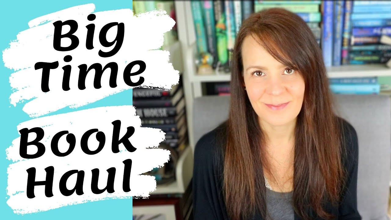 """BIG TIME BOOK HAUL 📚   Throwing the """"I'm Not Buying Books"""" Plan Out the Window"""