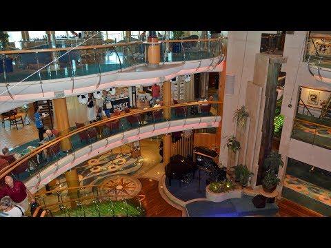 DJI Osmo w/ Z-Axis Royal Caribbean Radiance of the Seas Inside Tour and Helipad 4k