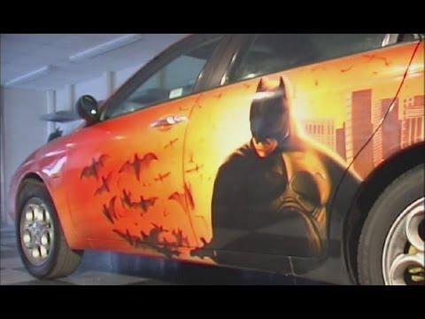 Custom Painting - Car Demo - Using Auto-Air / Createx Paints