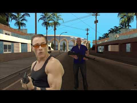 John and Jean Claude Van Damme take down a gang.