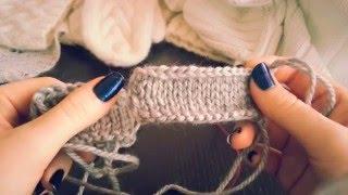 8) Как красиво закрыть петли крючком и спицами. ВЯЗАНИЕ СПИЦАМИ ДЛЯ НАЧИНАЮЩИХ.
