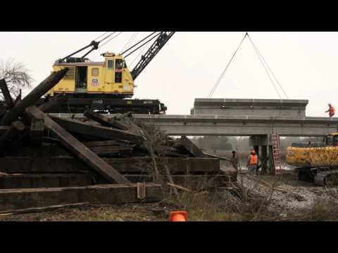 Union Pacific Construction Swarm - Hearne, Texas