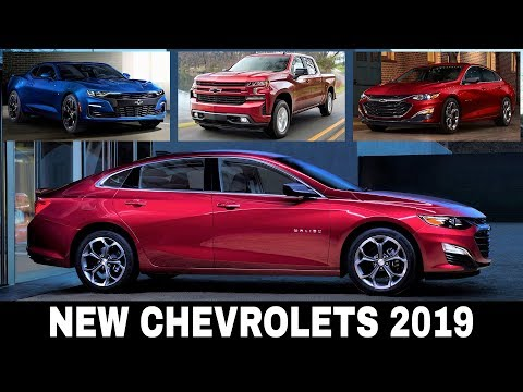 8 All-New Chevrolet Cars Presented for the 2019 Model Year (Detailed Review)
