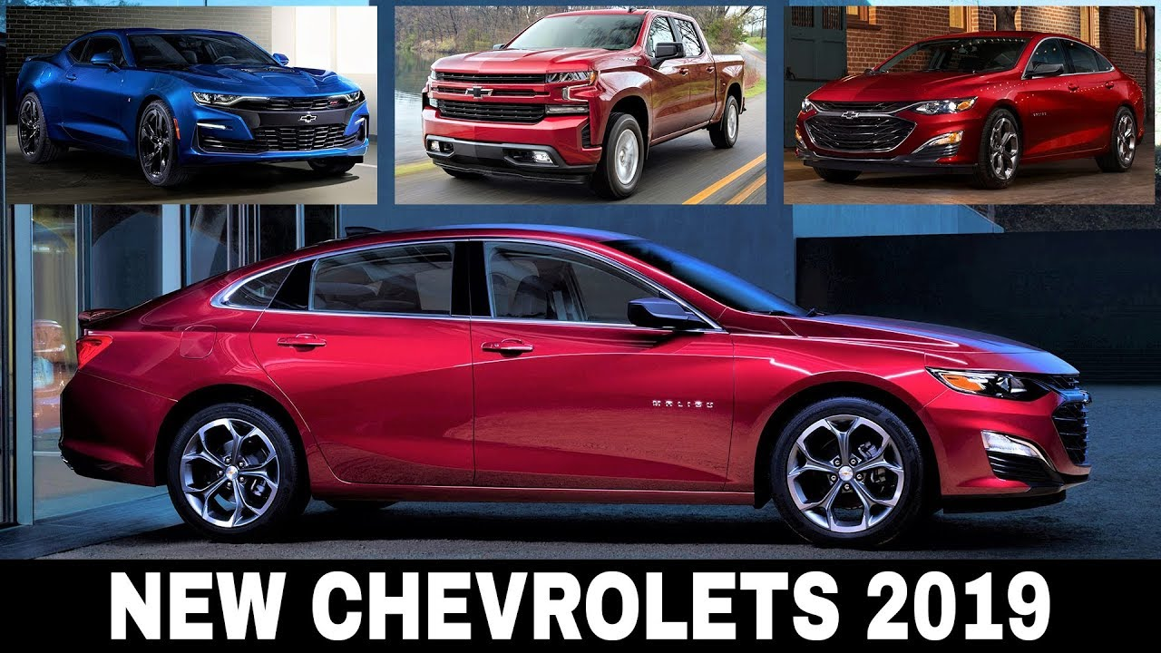 8 All New Chevrolet Cars Presented For The 2019 Model Year Detailed Review Youtube