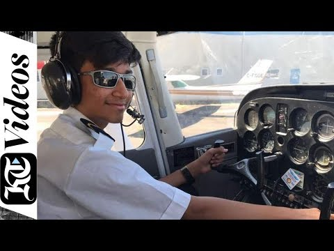 Meet UAE's 14-year-old pilot