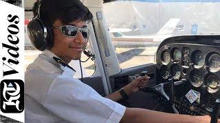 Meet UAE's 14-year-old pilot