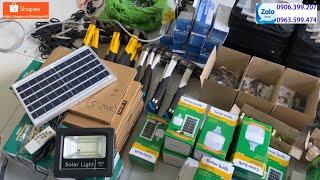 Đèn Năng Lượng Mặt Trời - Máy Bơm Hơi Mini - Adapter Đa Năng - Motor - Búa Nhật - ...