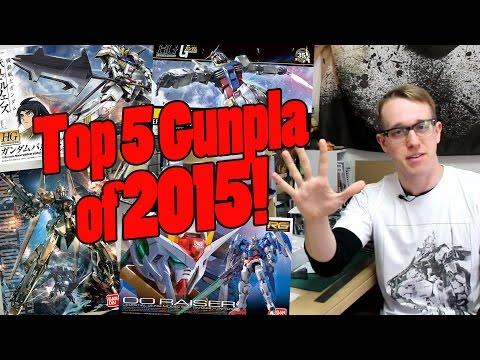 483 - Top 5 Gunpla Kits of 2015!