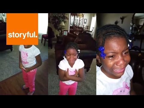 Little Girl Not Ready for Obama to Leave the White House (Storyful, Kids)