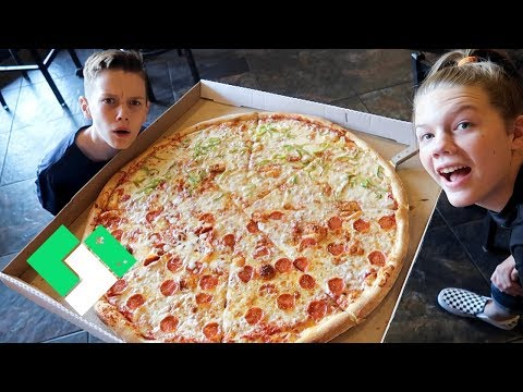 Let's Eat a Giant NY Pizza 🍕 | Clintus.tv