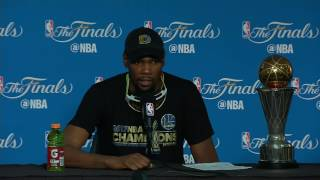 Finals MVP Kevin Durant's Game 5 Press Conference
