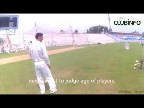 U-19 trials for Rawalpindi region, headed by Former Test Cricket Aamer Nazir