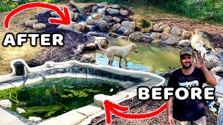 FLAIR FISHING Gets a Pond Makeover!!