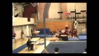 Floor exercise - salto forward with 3/1 twist (F)