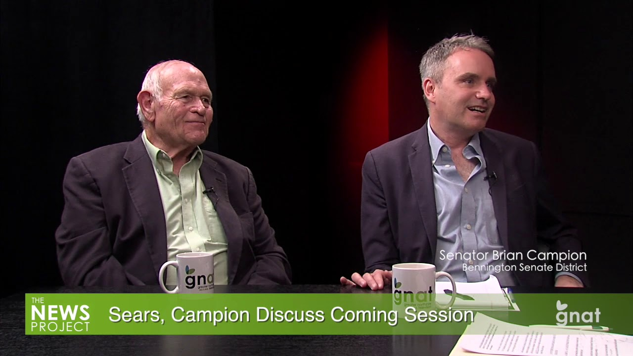 The News Project - In Studio: Sears, Campion Discuss Coming Session