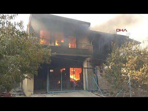 ثلاثة قتلى في حريق غابات بالقرب من منتجع سياحي في تركيا