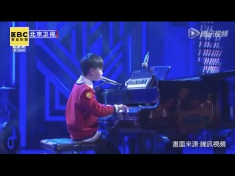 Singing and Piano Prodigy Brings Tears to Audience