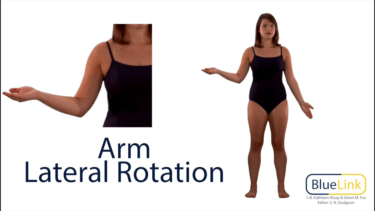 Arm Medial and Lateral Rotation - YouTube