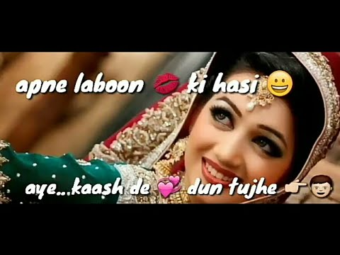 Love Song | Apne Labon Ki Hansi | WhatsApp Love Status
