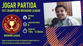 Um cara normal joga a Weekend League.