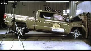 2016-2018 Toyota Tacoma Double Cab NHTSA Frontal Impact