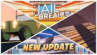 Roblox Jailbreak Live!🔴| NEW PRISON UPDATE! 🔒| NEW Military Jeep 🚙| Two New Escapes!💨| Come join us!