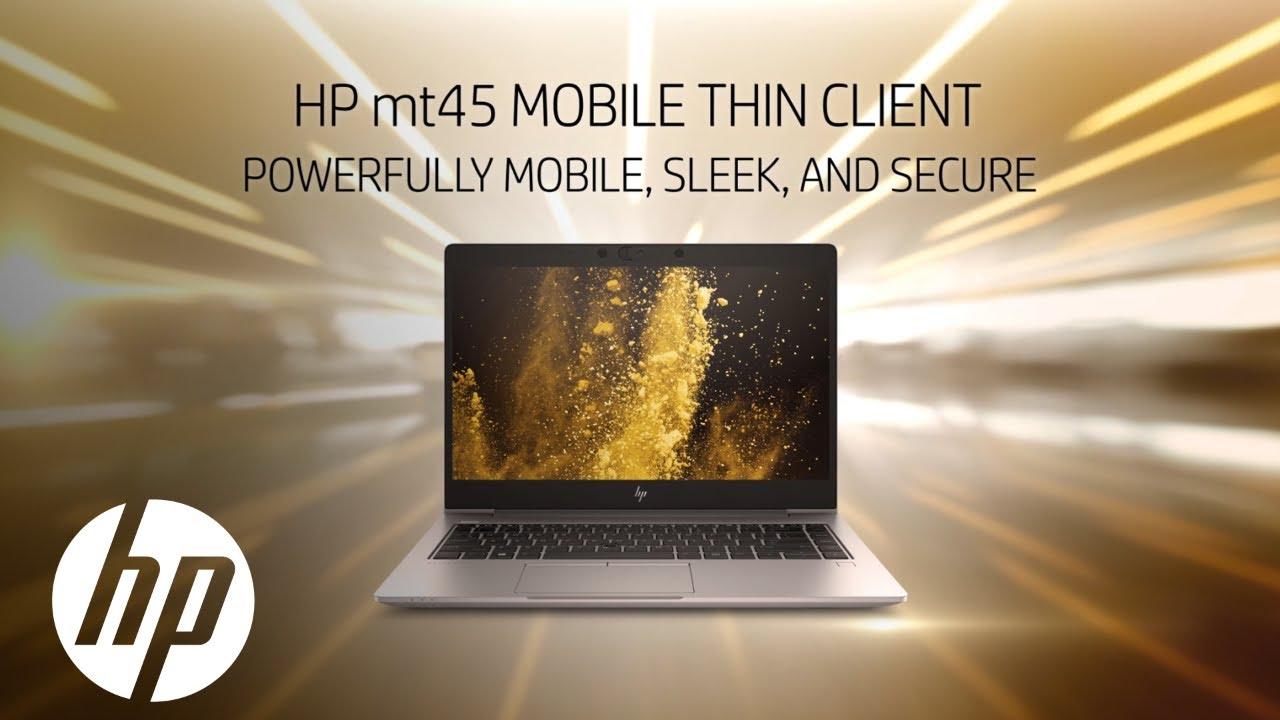 HP mt45 Mobile Thin Client - HP ThinPro/Smart Zero Core (x64