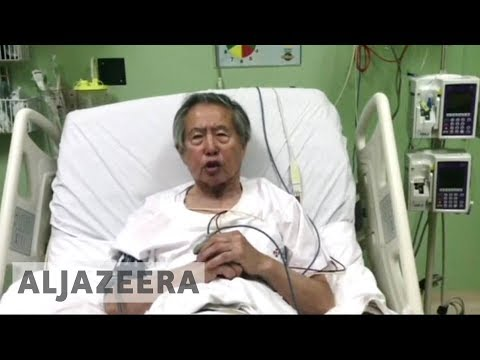 Anger in Peru after Fujimori's pardon on health grounds