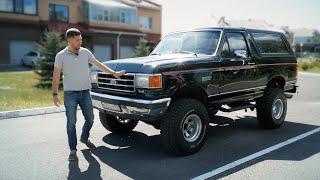 Последний герой боевиков. Ford Bronco 1989