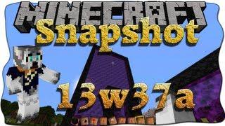 Minecraft Snapshot 13w37a [Deutsch/German] 1.7 - Rießige Netherportale !!