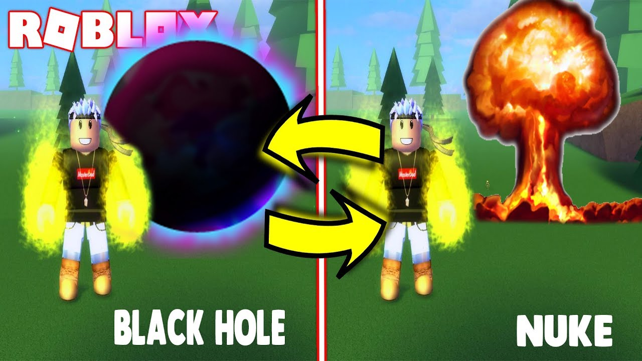 THIS IS WHAT HAPPENS WHEN YOU USE A NUKE AND BLACK HOLE ...